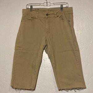 Blue Pearl boys khaki cut offs, size 16